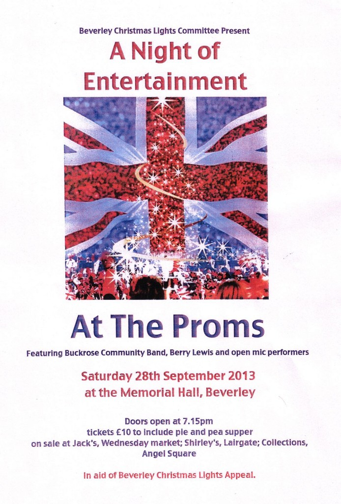 At the Proms