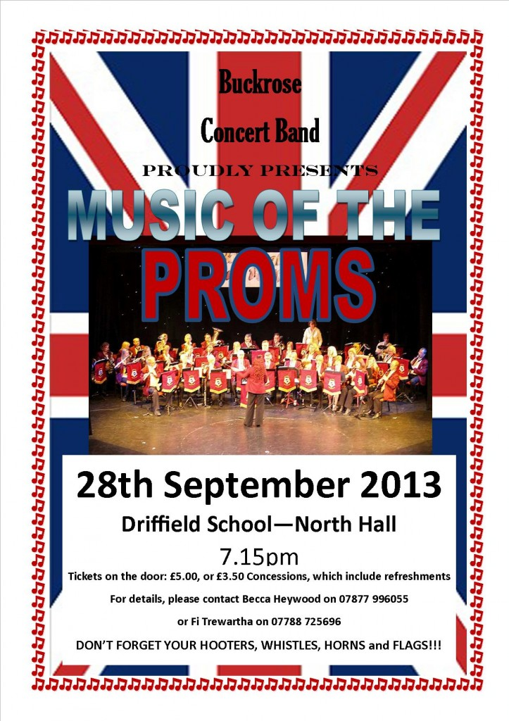 Prom concert poster